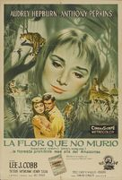 Green Mansions - Argentinian Movie Poster (xs thumbnail)