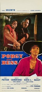Porgy and Bess - Italian Movie Poster (xs thumbnail)
