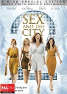 Sex and the City 2 - Australian DVD cover (xs thumbnail)