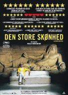 La grande bellezza - Danish Movie Poster (xs thumbnail)
