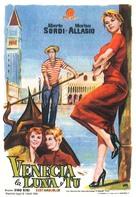 Venezia, la luna e tu - Spanish Movie Poster (xs thumbnail)