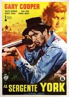 Sergeant York - Italian Movie Poster (xs thumbnail)