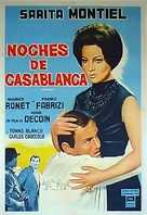Noches de Casablanca - Argentinian Movie Poster (xs thumbnail)