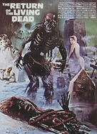 The Return of the Living Dead - Japanese Movie Cover (xs thumbnail)