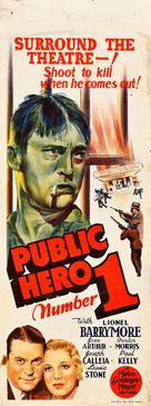 Public Hero #1 - Australian Movie Poster (xs thumbnail)