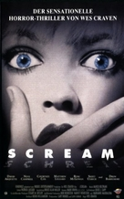 Scream - German Movie Cover (xs thumbnail)