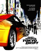 The Fast and the Furious: Tokyo Drift - French Movie Poster (xs thumbnail)