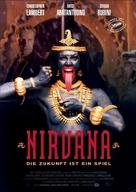 Nirvana - German Movie Poster (xs thumbnail)