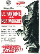 Phantom of the Rue Morgue - French Movie Poster (xs thumbnail)