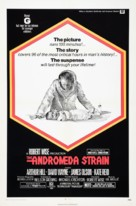 The Andromeda Strain - Theatrical movie poster (xs thumbnail)