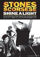 Shine a Light - Norwegian Movie Poster (xs thumbnail)