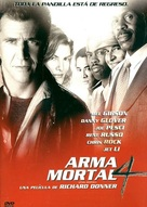 Lethal Weapon 4 - Mexican DVD movie cover (xs thumbnail)