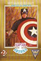 Captain America - Turkish VHS cover (xs thumbnail)