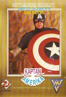 Captain America - Turkish VHS movie cover (xs thumbnail)