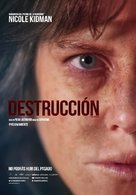 Destroyer - Mexican Movie Poster (xs thumbnail)