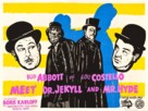 Abbott and Costello Meet Dr. Jekyll and Mr. Hyde - British Movie Poster (xs thumbnail)