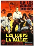 The Big Land - French Movie Poster (xs thumbnail)