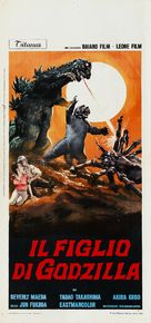 Kaijûtô no kessen: Gojira no musuko - Italian Movie Poster (xs thumbnail)