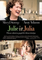 Julie & Julia - Lithuanian Movie Poster (xs thumbnail)