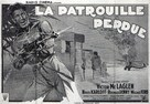 The Lost Patrol - French Movie Poster (xs thumbnail)