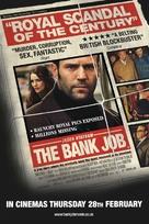 The Bank Job - British Movie Poster (xs thumbnail)