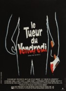 Friday the 13th Part 2 - French Movie Poster (xs thumbnail)