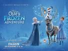 Olaf's Frozen Adventure - British Movie Poster (xs thumbnail)