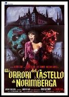 Gli orrori del castello di Norimberga - Italian Movie Poster (xs thumbnail)
