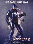 RoboCop 2 - Movie Poster (xs thumbnail)