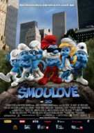 The Smurfs - Czech Movie Poster (xs thumbnail)