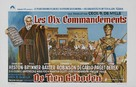The Ten Commandments - Belgian Movie Poster (xs thumbnail)