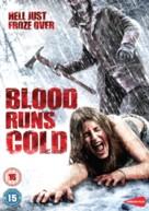 Blood Runs Cold - British DVD movie cover (xs thumbnail)
