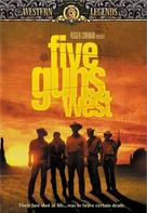 Five Guns West - Movie Cover (xs thumbnail)
