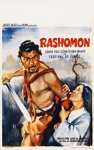 Rashômon - Belgian Movie Poster (xs thumbnail)