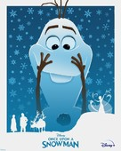 Once Upon A Snowman - Movie Poster (xs thumbnail)