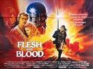 Flesh And Blood - British Movie Poster (xs thumbnail)