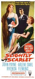 Slightly Scarlet - Australian Movie Poster (xs thumbnail)