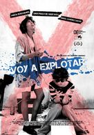 Voy a explotar - Mexican Movie Poster (xs thumbnail)