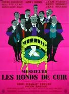 Messieurs les ronds de cuir - French Movie Poster (xs thumbnail)