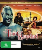 The Thief of Bagdad - Australian Blu-Ray movie cover (xs thumbnail)