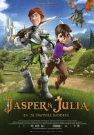 Justin and the Knights of Valour - Dutch Movie Poster (xs thumbnail)