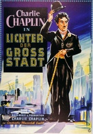 City Lights - German Movie Poster (xs thumbnail)