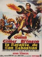 La bataille de San Sebastian - French Theatrical poster (xs thumbnail)
