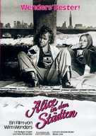 Alice in den Städten - German Movie Poster (xs thumbnail)