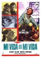 Five Easy Pieces - Spanish Movie Poster (xs thumbnail)