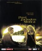 Before Sunset - Polish Movie Poster (xs thumbnail)