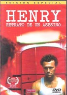Henry: Portrait of a Serial Killer - Argentinian DVD cover (xs thumbnail)