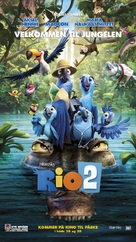 Rio 2 - Norwegian Movie Poster (xs thumbnail)