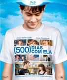(500) Days of Summer - Brazilian Blu-Ray cover (xs thumbnail)