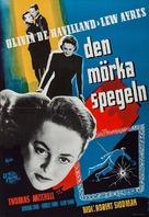 The Dark Mirror - Swedish Movie Poster (xs thumbnail)